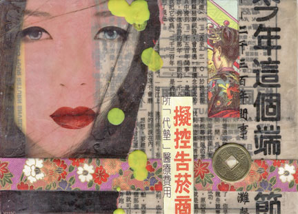Wax Collage & Encaustic