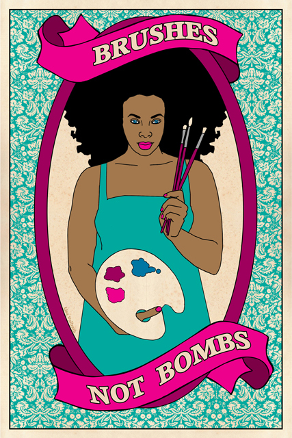 Brushes Not Bombs