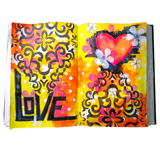 Love Altered Dictionary Pages