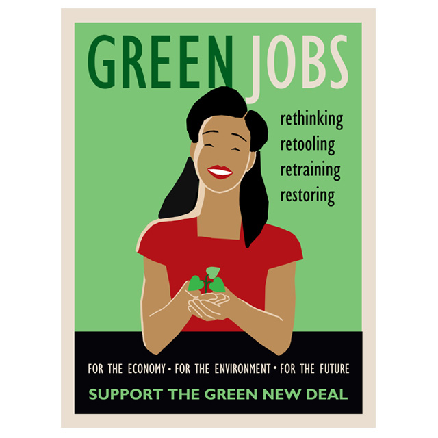 Green New Deal Posters