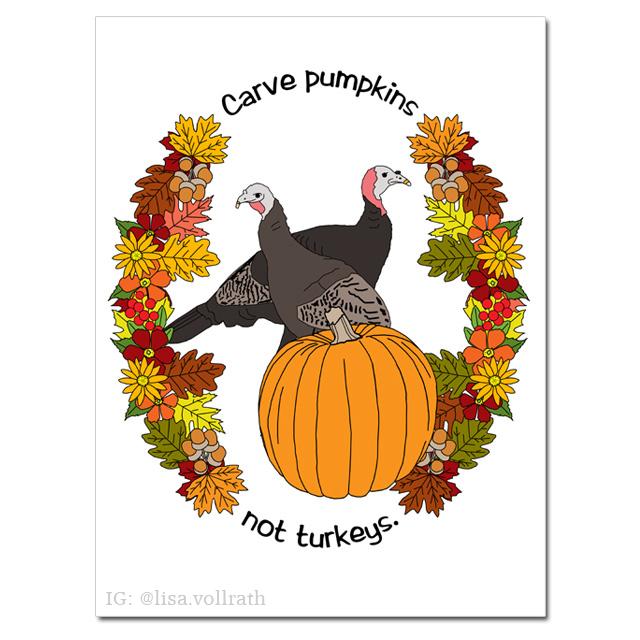 Carve Pumpkins Poster