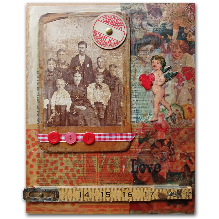 Beeswax Collages